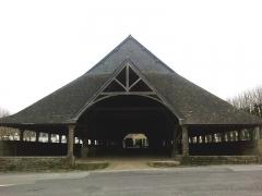 Vieilles halles -  Morbihan Le Faouet Halle