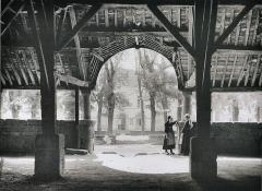 Vieilles halles - Français:   Les halles du Faouët (photographie de Philippee Tassier, vers 1910)