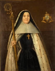 Ancienne abbaye de la Joie - English: Antoinette-Jeanne du Fay d'Athyes de Cilly, abbess of Notre Dame de la Joie Abbey from 1719 to 1731.