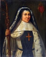 Ancienne abbaye de la Joie - English: Madeline II Clotilde de La Bourdonnaye de Blossac, last abbess of la Joie Abbey
