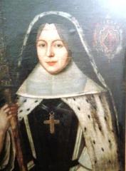 Ancienne abbaye de la Joie - English: Marie IV Perrine de Verdière, abbess of La Joie Abbey