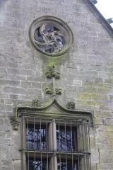 Eglise Notre-Dame-de-Paradis et ses abords - Français:   Extérieur de l\'Église Notre-Dame-de-Paradis d\'Hennebont, France
