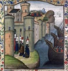 Remparts - Français:   Jeanne de Flandre