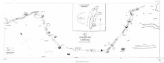 Cromlech de Kergenan - English: Plan of the Dracontium of Carnac [Erdeven, Plouharnel, La Trinité-sur-Mer & Île-aux-Moines]. Surveyed April 1832