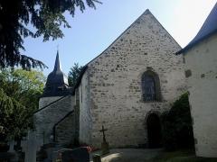 Eglise Sainte-Croix -  Morbihan Josselin Chapelle Sainte Croix 24102013