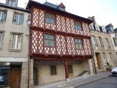 Maison du 16e siècle, dite Maison Morice -  maison de josselin