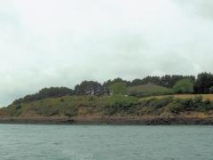 Tumulus-dolmen de l'île Gavrinis - Deutsch: Cairn auf der Insel Gavrinis, bei Larmor-Baden, Golf von Morbihan