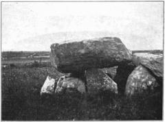 Dolmen de Kerveresse - English: Dolmen of Kerveresse Locmariaquer