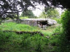 Dolmen du Mané-Rutual - Deutsch: Dolmen von Mane Rethual bei Locmariaquer, Morbihan