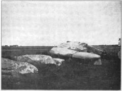 Dolmen du Mané-Rutual - English: Dolmen of Mane Retual Locmariaquer