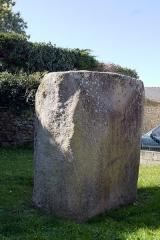 Menhir couché dit Men-Bronso - English: Locmariaquer, France. Menhir du Bronso.