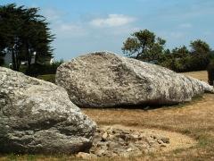 Grand menhir de Men-er-Grah -  Locmariaquer - Großer Menhir