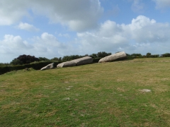 Grand menhir de Men-er-Grah - English: The broken menhir of Locmariaquer Brittany