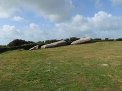 Grand menhir de Men-er-Grah - English: The broken menhir of Locmariaquer Brittany