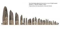 Grand menhir de Men-er-Grah - English: The grand menhir Er Grah.