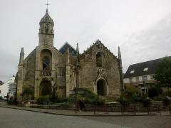 Eglise Saint-Sauveur ou Saint-Colomban -  Morbihan Locmine Saint-Sauveur