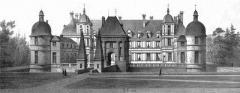Allée couverte coudée de Mané-er-Loh, dite Mané-Bras - Deutsch: Zeichnung des Schlosses Tanlay, Südost-Ansicht des Logis'