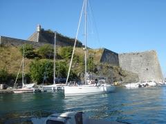 Citadelle du Palais, à Belle-Ile-en-Mer - Port et citadelle de Palais (56), à Belle-Île-en-Mer, en Bretagne.