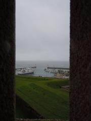 Citadelle du Palais, à Belle-Ile-en-Mer - Avant-Port depuis l'échauguette de la citadelle Vauban