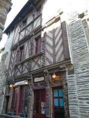 Maison dite des Marmousets -  maison ancienne a ploermel