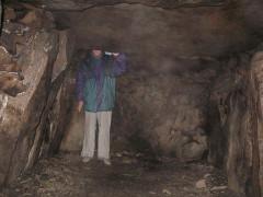 Six sépultures circulaires sous tertre tumulaire - Deutsch: Grabkammer von Kernours