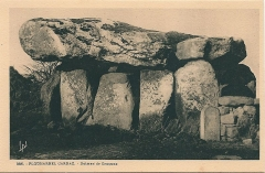 Dolmen de Crucuno - Français:   Carte postale de Carnac (Morbihan, France)