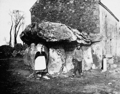 Dolmen de Crucuno - English: Dolman near Carnac Brittany