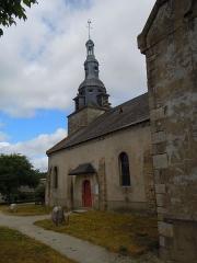 Eglise Saint-Thuriau - Français:   Clocher de l\'église Saint-Thuriau de Plumergat