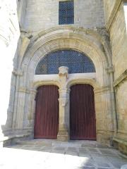 Chapelle Sainte-Avoye -  la porte de la chapelle de st avoye a pluneret