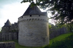 Château de Rohan - English: Rohan's castle in Pontivy, Brittany, France.