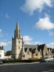 Eglise Notre-Dame-de-la-Joie - La basilique Notre-Dame-de-Joie de Pontivy.