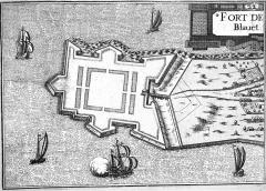 Fortifications de la ville : Citadelle et remparts - French cartographer, architect and author