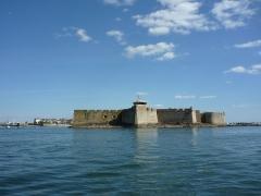 Fortifications de la ville : Citadelle et remparts -  The Citadel in Port-Louis, Morbihan, France