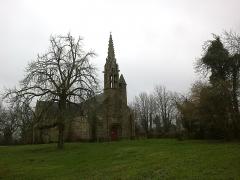 Chapelle Saint-Nicolas -  Morbihan Priziac Chapelle Saint-Nicolas 12012014