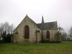 Chapelle Saint-Nicolas -  Morbihan Priziac Chapelle Saint-Nicolas Chevet 12012014
