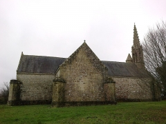 Chapelle Saint-Nicolas -  Morbihan Priziac Chapelle Saint-Nicolas Cote Gauche 12012014