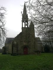 Chapelle Saint-Nicolas -  Morbihan Priziac Chapelle Saint-Nicolas Porche 12012014