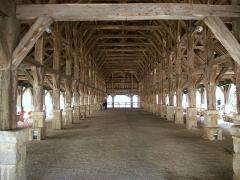 Vieilles halles - Français:   Halles de Questembert (Morbihan, Bretagne, France)