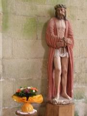Chapelle de Locmaria - Français:   Chapelle de Locmaria en Quistinic (56). Statue de l\'Ecce Homo.