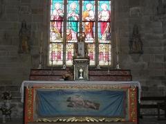Chapelle de Locmaria - Français:   Chapelle de Locmaria en Quistinic (56). Maître-autel.