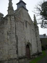 Chapelle Saint-Adrien - Français:   Façade ouest