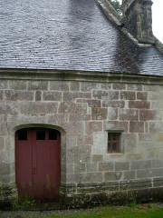 Chapelle Saint-Adrien - Français:   Porte Nord