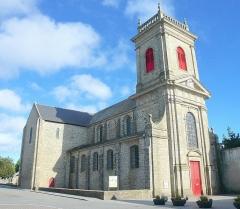 Eglise Saint-Gildas - Abbaye de Saint-Gildas de Rhuys sur la Presqu'île de Rhuys dans le Morbihan.