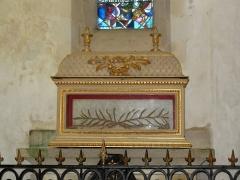 Eglise Saint-Gildas - Reliquaire de saint Goustan, dans l'abbaye de Saint-Gildas de Rhuys (Morbihan, France)