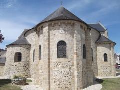Eglise Saint-Gildas - Deutsch: Rückseite der Kirche (Kathedrale?) von St. Denis in der Bretagne