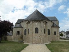 Eglise Saint-Gildas - Chœur de l'abbatiale de Saint-Gildas-de-Rhuys.