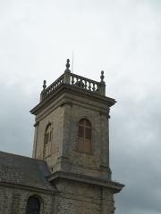 Eglise Saint-Gildas - Clocher de l'abbatiale de Saint-Gildas-de-Rhuys.