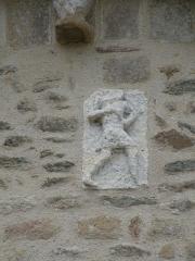 Eglise Saint-Gildas - Relief du chœur de l'abbaye Saint-Gildas-de-Rhuys.