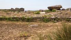 Dolmen du Port-Blanc - Deutsch: Dolmen von Port-Blanc (Porz Guen), Megalithanlage in der Bretagne