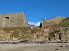 Fort de Penthièvre -  Morbihan Saint-Pierre-Quiberon Plage Du Pouladen Fort Penthievre 03/02/2016